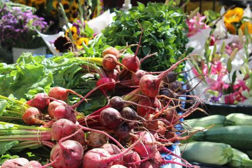 beets and other garden vegetables